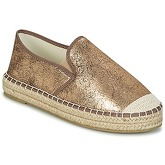 LPB Shoes  MAYA  women's Espadrilles / Casual Shoes in Gold