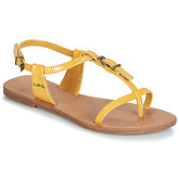 LPB Shoes  ZHOE  women's Sandals in Yellow