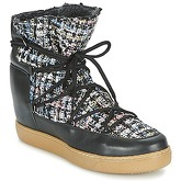 Meline  DERNA  women's Mid Boots in Black