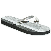MICHAEL Michael Kors  MK FLIP FLOP  women's Flip flops / Sandals (Shoes) in Silver