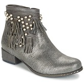 Mimmu  MOONSTROP  women's Mid Boots in Silver
