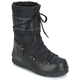 Moon Boot  MOON BOOT SOFT SHADE MID WP  women's Snow boots in Black