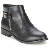Moony Mood  BIGAIL  women's Mid Boots in Black