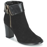 Moony Mood  FRISETTE  women's Low Ankle Boots in Black