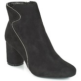 Moony Mood  JUDY  women's Low Ankle Boots in Black