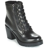 MTNG  MARA  women's Low Ankle Boots in Black