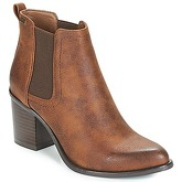 MTNG  KARMA  women's Low Ankle Boots in Brown