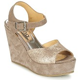 Myma  RAPHIA  women's Sandals in Beige