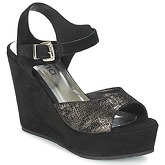 Myma  RAPHIA  women's Sandals in Black