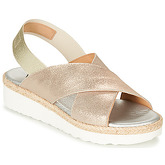 Myma  BRITTY  women's Sandals in Gold