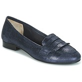 Myma  GERTINA  women's Loafers / Casual Shoes in Blue