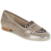 Myma  GERTINA  women's Loafers / Casual Shoes in Silver