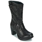 New Rock  MANTROFUSA  women's High Boots in Black
