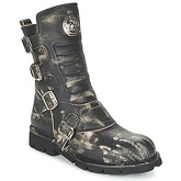 New Rock  MARTO  women's Mid Boots in Black