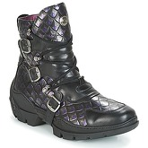 New Rock  FURIOUSA  women's Mid Boots in Black