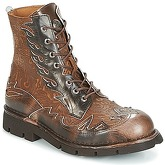 New Rock  METALS  women's Mid Boots in Brown