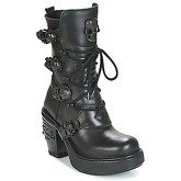 New Rock  BILLYS  women's Low Ankle Boots in Black