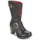 New Rock  AGALO  women's Low Ankle Boots in Black