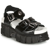 New Rock  PLANEA  women's Sandals in Black