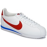 Nike  CLASSIC CORTEZ LEATHER OG  men's Shoes (Trainers) in White