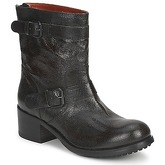 Now  PINI  women's Mid Boots in Black