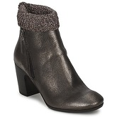 Now  SOLIU  women's Low Ankle Boots in Brown