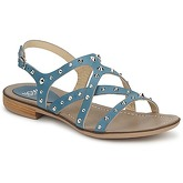 Now  PIGNEROL  women's Sandals in Blue