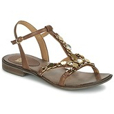 Now  LEVIN  women's Sandals in Brown