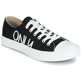 Only  SURI CANVAS  women's Shoes (Trainers) in Black