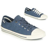Pepe jeans  GERY ANGIE  women's Shoes (Trainers) in Blue