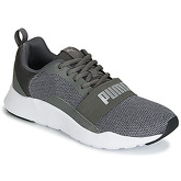 Puma  JR PUMA WIRED KNIT.GREY  women's Shoes (Trainers) in Grey