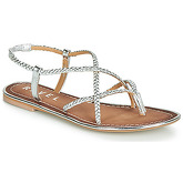 Ravel  HOLMES  women's Sandals in Silver
