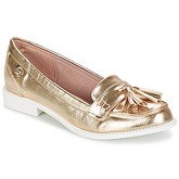 Refresh  LOUDI  women's Loafers / Casual Shoes in Gold