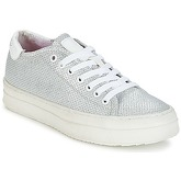 Replay  CLOSER  women's Shoes (Trainers) in Silver