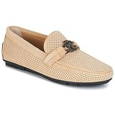 Roberto Cavalli  4217  men's Loafers / Casual Shoes in Beige