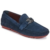 Roberto Cavalli  4217  men's Loafers / Casual Shoes in Blue