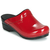 Sanita  SONJA  women's Clogs (Shoes) in Red