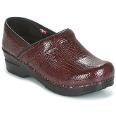 Sanita  PROFESSIONAL  women's Clogs (Shoes) in Red