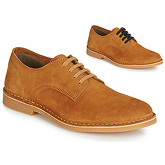 Selected  ROYCE DERBY LIGHT SUEDE  men's Casual Shoes in Brown
