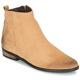So Size  GARENA  women's Mid Boots in Beige