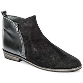 So Size  SERRAJE  women's Mid Boots in Black