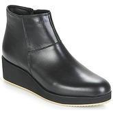 So Size  JESCAP  women's Mid Boots in Black