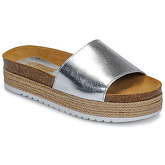So Size  JITRUNE  women's Mules / Casual Shoes in Silver