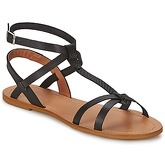 So Size  BEALO  women's Sandals in Black