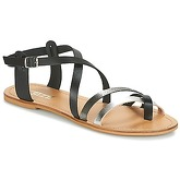 So Size  EGRINO  women's Sandals in Black