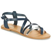 So Size  SITAFI  women's Sandals in Blue