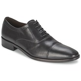 So Size  INDIANA  men's Smart / Formal Shoes in Black