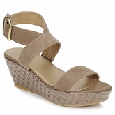 Stuart Weitzman  ABLE  women's Sandals in Brown