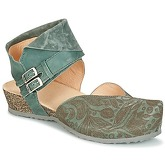 Think  MUBA  women's Clogs (Shoes) in Green