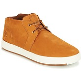 Timberland  Davis Square Leather Chukka  men's Shoes (Trainers) in Yellow